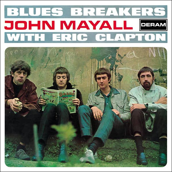 195 – John Mayall with Eric Clapton – Blues Breakers (1966)