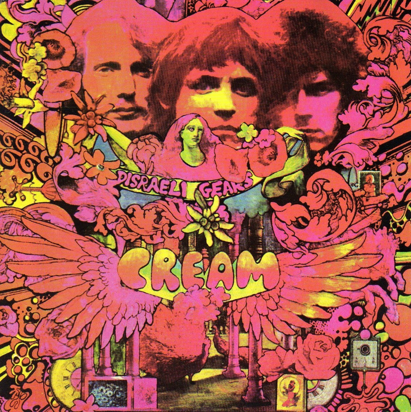 Cream The Wheels Of Fire